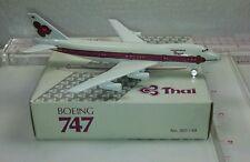 New Vintage Schabak THAI Boeing 747 Diecast 1:600 scale