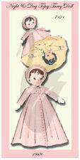 Reproduction of a Vintage Topsy Turvy Doll 7121 Sewing Pattern