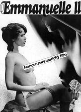Photo originale Sylvia Kristel Emmanuelle 2 montage tchèque érotisme lingerie