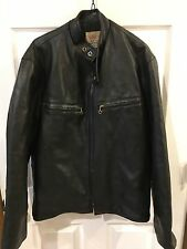 Sudco Mens Motorcycle Vintage 1960's Japan Vegan Leather Jacket Large