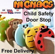 Child Safety Door Stop x 5!! Protect Fingers Stopper Guard Infant Baby Safe