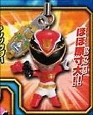 Bandai Tensou Sentai Goseiger P 1 Phone Strap Mascot Figure Red