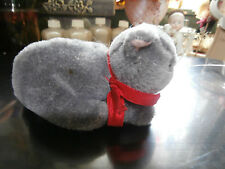 Vintage 1988 Dakin Adorable Gray / Silver Kitten Cat