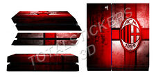 SKIN PS4 AC MILAN WALL STYLE CONSOLE STICKER ADESIVO SK-053