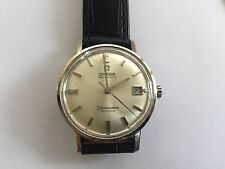 OMEGA SEAMASTER DEVILLE AUTO 18K SOLID WHITE GOLD  WATCH