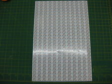 300 FITTED WITH A 3A 5A 10A & 13A FUSE Stickers 75 of each one