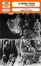 FICHE CINEMA : LE MONDE PERDU - Love,Stone,Beery,O.Hoyt 1925 The Lost World