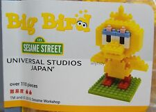 Kawada nanoblock Sesame Street Big Bird UNIVERSAL STUDIO JAPAN limited    h#3