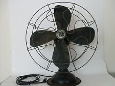 Vintage Robbins & Myers 1930~1935 Type 1204 Working 3 Speeds Fan (Made in USA)