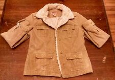 Aeropostale women's faux fur collar jacket size m