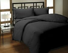 600 THREAD COUNT 100% EGYPTIAN COTTON( SUPERKING ) FLAT Sheet BLACK)