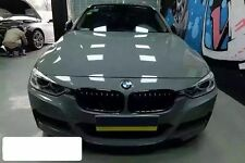 Qwrap Quality Grey High Gloss Finish Vinyl 3Layer Wrap Air Bubble Free 3M X1.52M