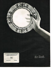 PUBLICITE ADVERTISING 054  1964  BERNARDAUD  porcelaine  SERVICE POLIGNAC