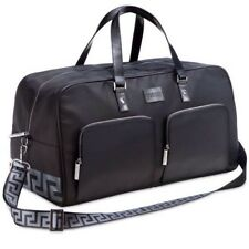 New&sealed Versace Men's Black Weekend Bag Holdall, Gym , Overnight , Bags!!
