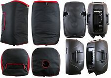 2Pcs DEURA  Padded Cover FIT JBL EON515  SBA-115 PA DJ Powered Speaker BAG CASE*