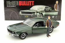 Ford Mustang GT Movie Car Bullitt Steve McQueen grün 1:18 Greenlight