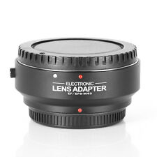 AF Auto Focus Adapter f Canon EOS EF-S Lens to M4/3 MFT Micro Four Thirds Camera