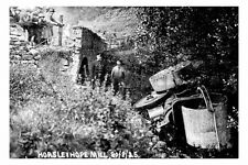rp17412 - Steam Roller Accident at Horsleyhope Mill in 1925 - photograph