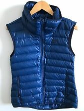 Nike Womens NSW Down 550 Fill Vest Running Blue Size XS 805257-423