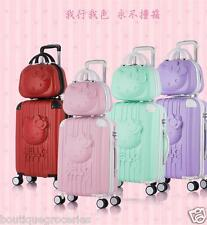 Lovely Cartoon HelloKitty Pull Rod Box Luggage Students Suitcase Wedding Items