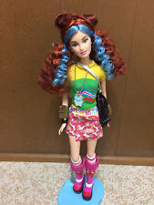 2004 Barbie Fashion Fever Tokyo Pop Style Japan Drew Doll Red Blue Hair