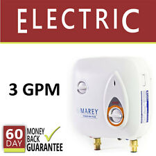 Tankless Hot Water Heater Electric 3 GPM Marey Instant On-Demand New