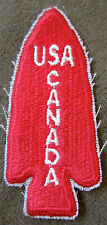 WWII US ARMY CANADIAN 1ST SPECIAL FORCES SLEEVE INSIGNIA PATCH