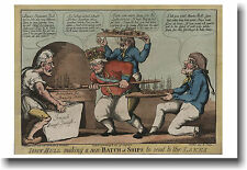 John Bull Making a New Batch of Ships - NEW Colonial Political Cartoon - POSTER
