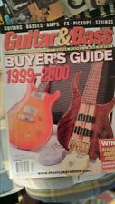 Guitar & BASS Player MAGAZINE SUMMER 1999-2000 BUYER'S GUIDE FREE SHIPPING