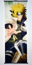 Wall Scroll Poster Fabric Painting Naruto Namikaze Minato 49.2 X17.7 inches