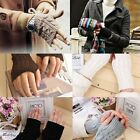Fashion Unisex  Women Knitted Fingerless Winter Gloves Soft Warm Mitten Elastic