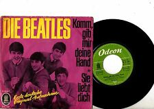 BEATLES 7'' PS I Want To Hold Your GERMANY 0 22 671 rare German cover!!