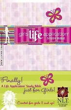 Girls Life Application Study Bible NLT (2006, Hardcover)