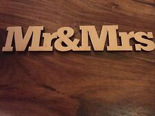 Wooden sign  MR&MRS  EMBELLISHMENT Craft Card Scrapbook Art