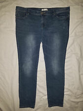 Women's 14 Route 66 stretch jeans ~ Classic Skinny fit ~ embroidered pockets