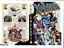 RICK LEONARDI X-MEN INFERNO ORIGINAL MARVEL COVER PROOF PRODUCTION ART WOLVERINE