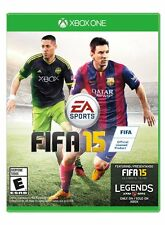 XBOX ONE FIFA 15 -  BRAND NEW SOCCER VIDEO GAME - FREE FIRST CLASS SHIPPING!
