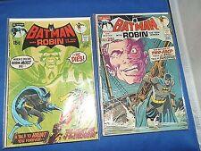 Batman #232 & 234 (Jun 1971, DC)