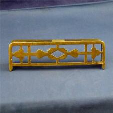 Vintage Doll House Brass Fire Rest Stunning F3162