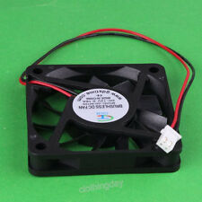 New DC 12V mini 6cm 60mm 60x10mm 6010s Brushless Cooling cooler Fan 2pin quiet