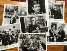Lot of 7 Vintage Movie Promo Photos 1981 TAPS with Timothy Hutton & TOM CRUISE
