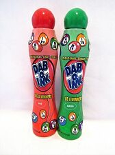 Bingo Daubers Markers Dab-O-Ink Four Ounce Red And Green