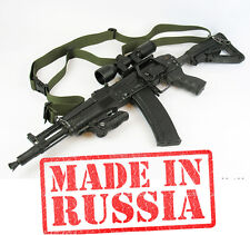 Russian weapon strap Holster Ammunition PAINTBALL airsoft AK 47 74 AKM MP5 olive