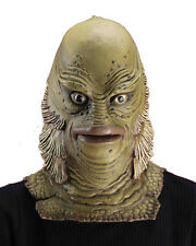 Adults Deluxe Creature Of The Black Lagoon Mask Monster Costume Accessory