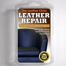 NAVY BLUE Leather Sofa & Chair Repair Kit for tears holes scuffs and colour dye