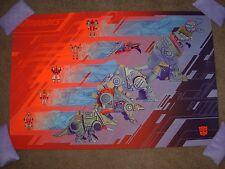 TRANSFORMERS Dinobots Hasbro Art Print poster art by Mondo artist Kevin Tong
