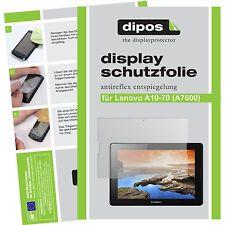 2x dipos Lenovo A10-70 Schutzfolie matt Displayschutzfolie Antireflex Testsieger