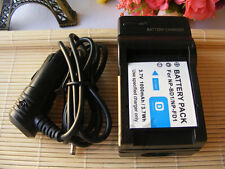 Battery + Charger For SONY Cyber-Shot DSC-T300 DSC-T500 DSC-T700 DSC-T75 DSC-T77