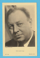 GERMAN  ACTOR  -  ROSS  VERLAG  SCARCE  POSTCARD  -  EMIL  JANNINGS  C -  1930's