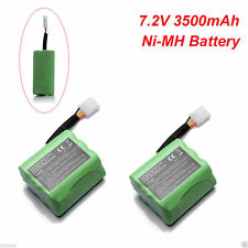2pcs 7.2V 3.5Ah Ni-MH Battery for Neato XV-11 XV-15 XV-21 Robot Vacuum Cleaner